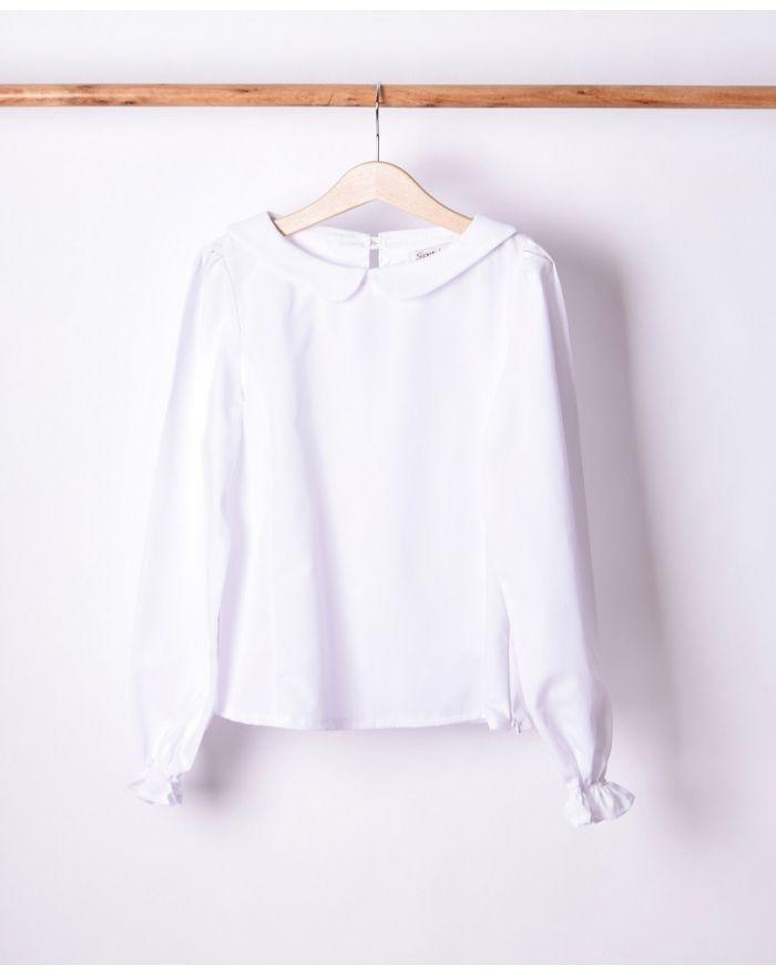 Bluza cu guleras pentru fete