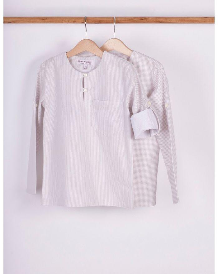 Bluza imprimata cu maneca regrabila pentru baieti