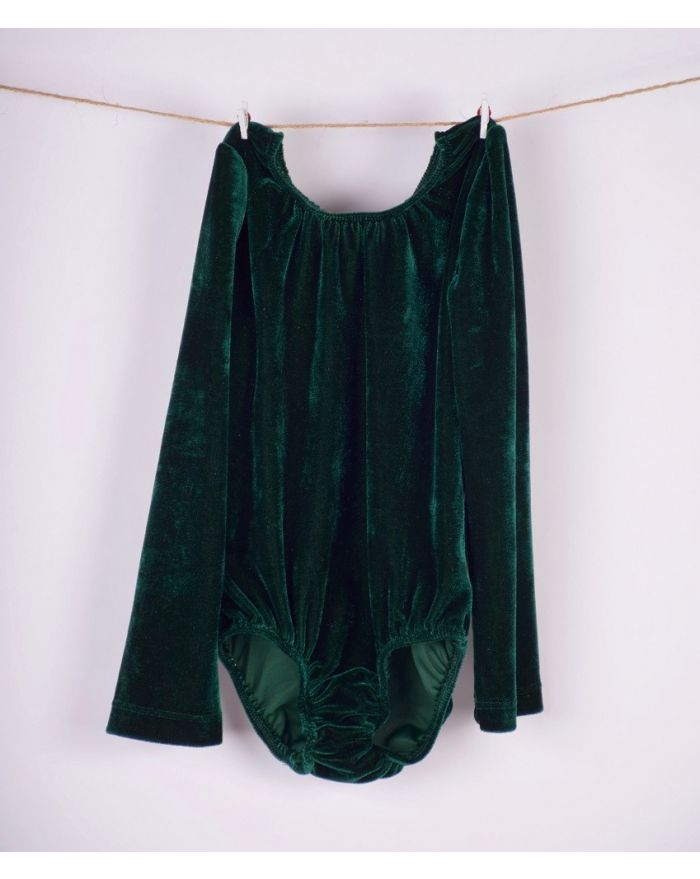 Body catifea verde inchis