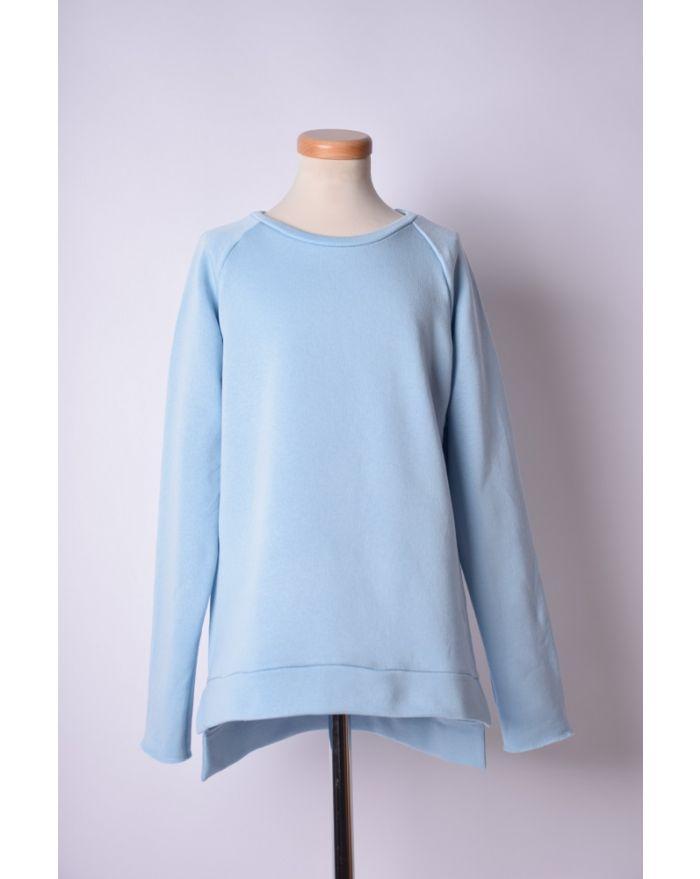 Bluza sport bleu