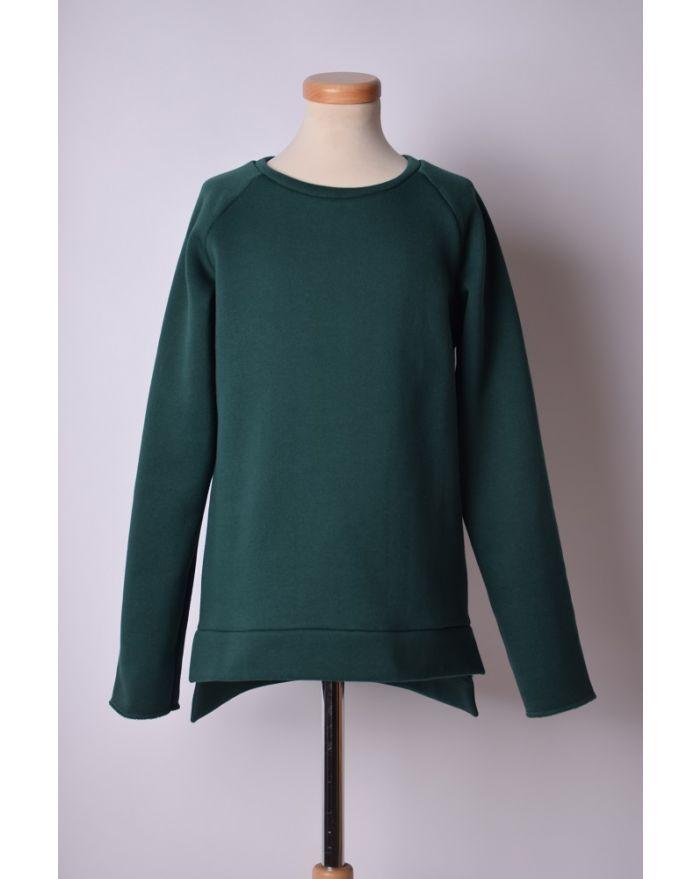 Bluza sport verde inchis