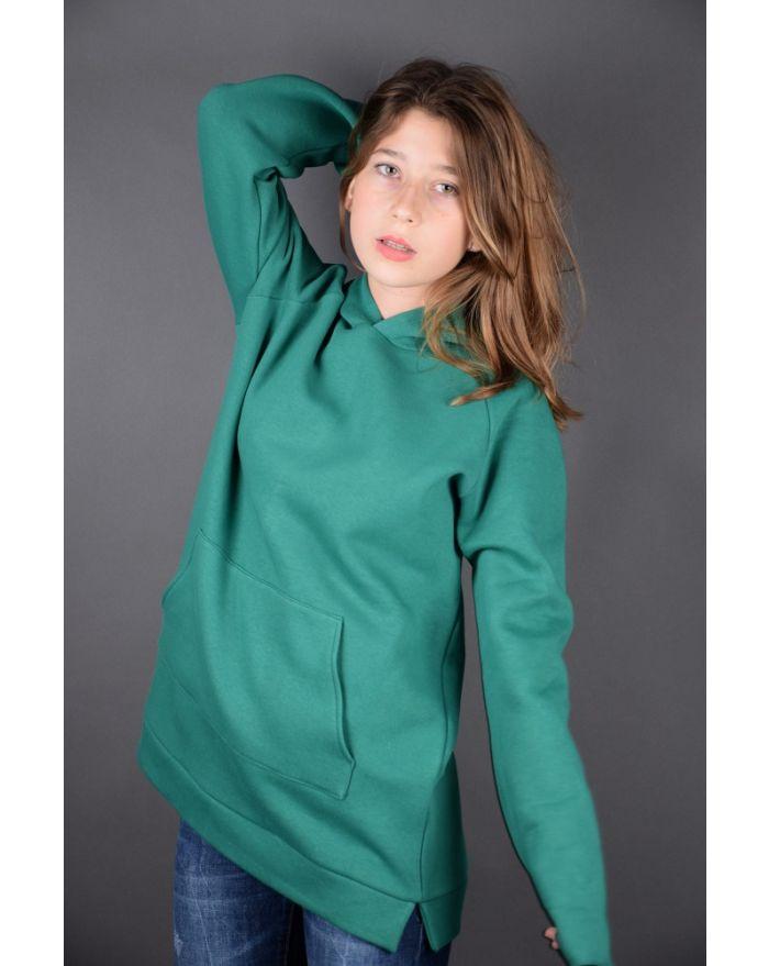 Hanorac-verde smarald
