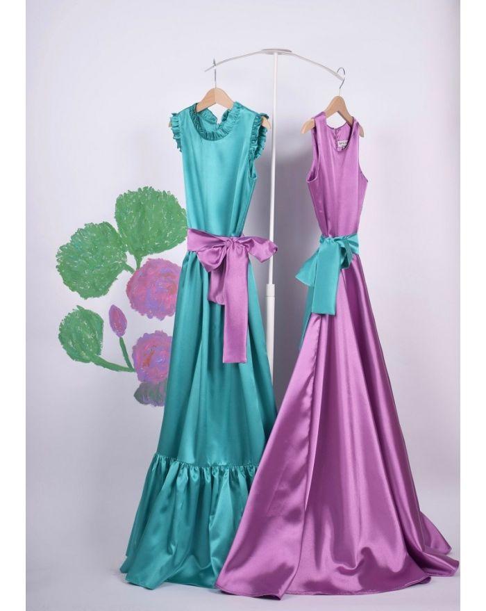 Duo rochite de joaca Turquoise - Lila
