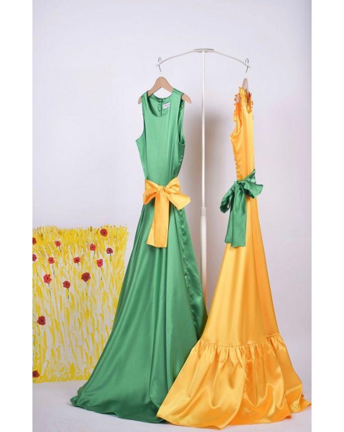 Duo rochite de joaca Verde deschis - Galben