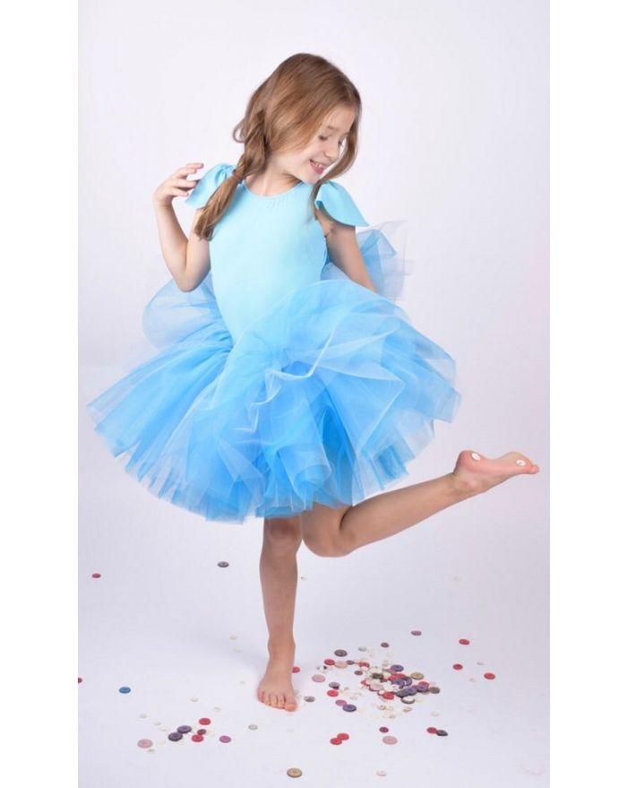 Costum Fluturas Bleu