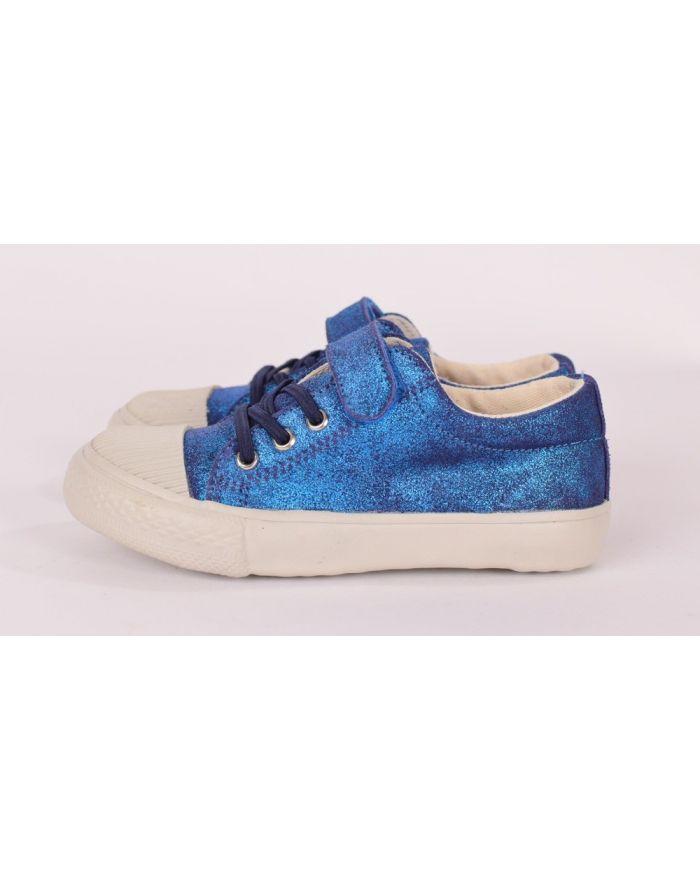 Pantofi sport Cobalt (Sidefati) cu velcro