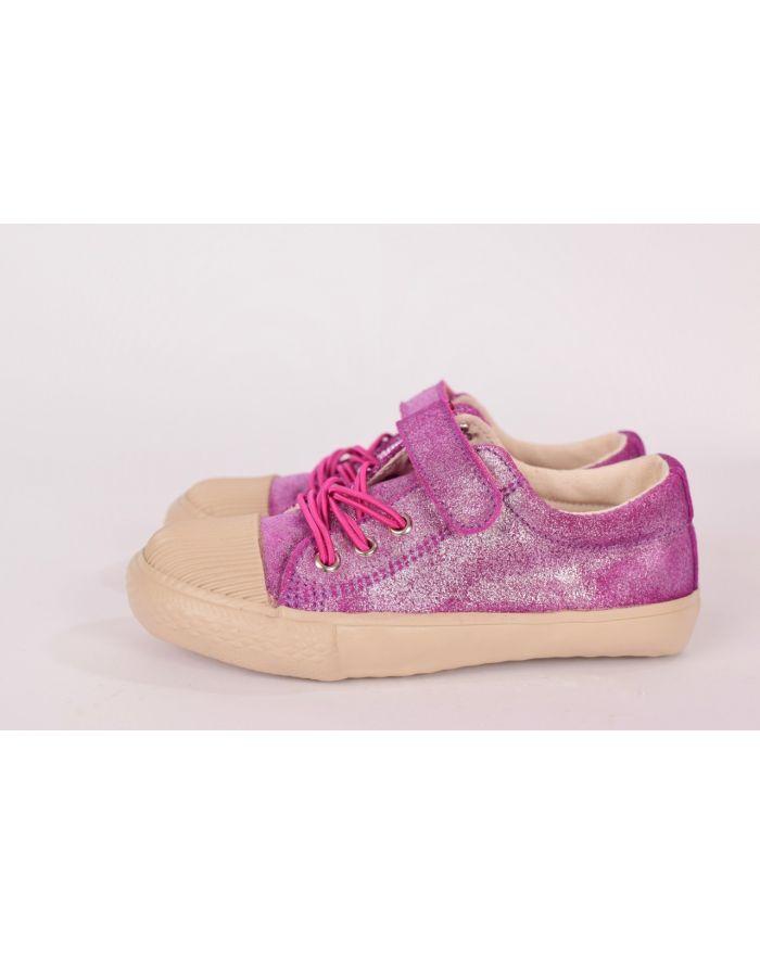 Pantofi sport Liliac (Sidefati) cu velcro