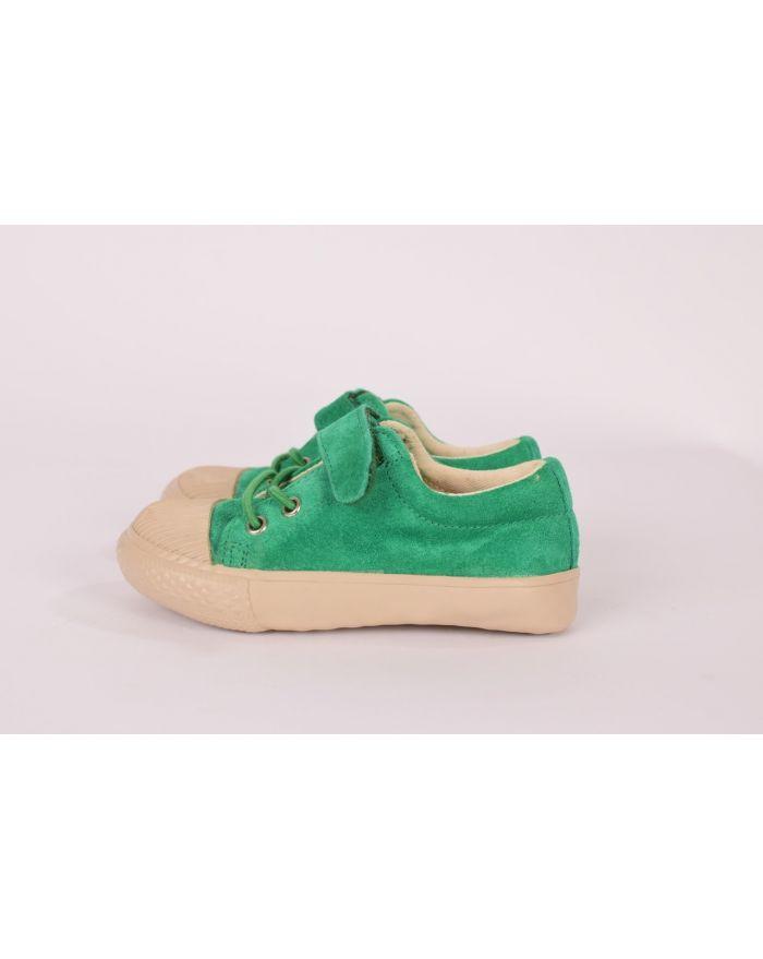 Pantofi sport Mar verde cu velcro