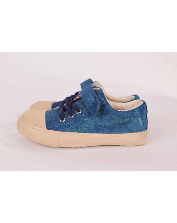 Pantofi sport Safir (Sidefati) cu velcro