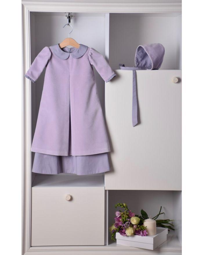 Rochita de botez lila