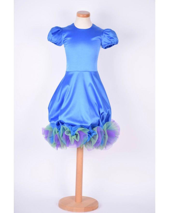 Rochita Bucurie albastra - scurta