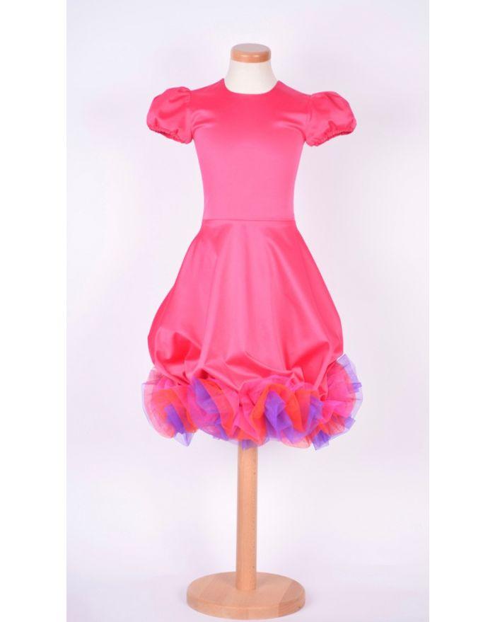 Rochita Bucurie roz - scurta