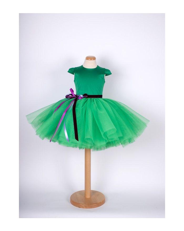Rochita Clopotel Pufos - verde